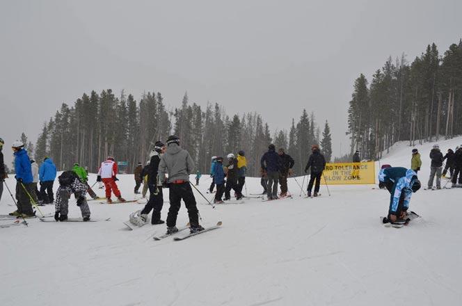 Saturday Nov 19, 2011 Vail trace of Snow