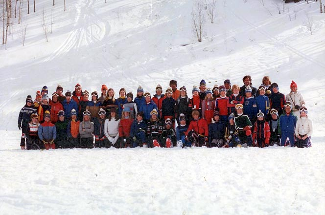 SCV 1980 Team Picture