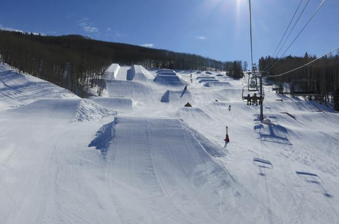 Vail Terrain Park Feb 17, 2011