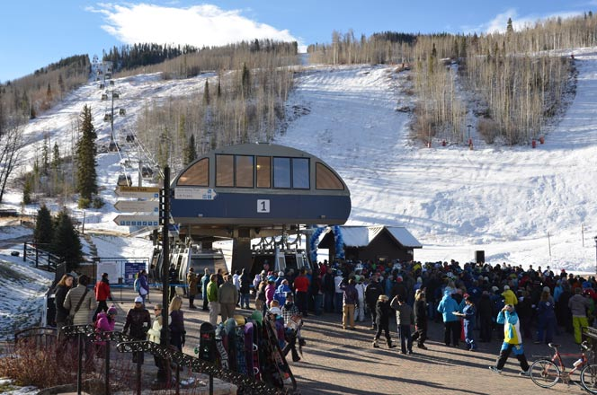 Vail Opening Day 2012 – New Gondola One