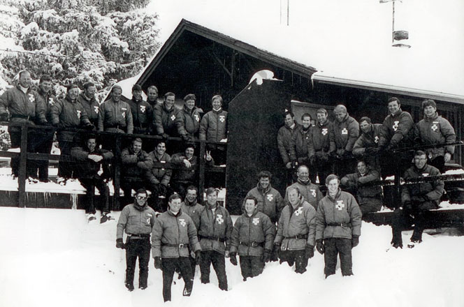 Happy Thanksgiving!  Vail Ski Patrol what year?