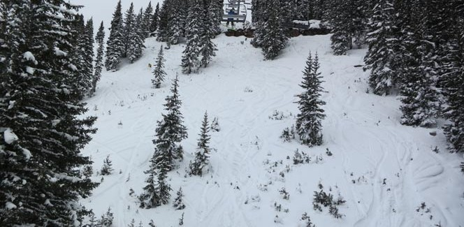 Chair 11 open and Northstar run video