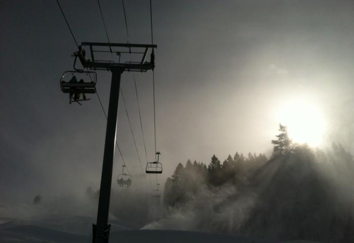 Snowmaking December 2012