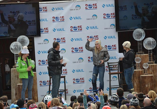 Vail Celebrates Mikaela Shiffrin and Lindsey Vonn