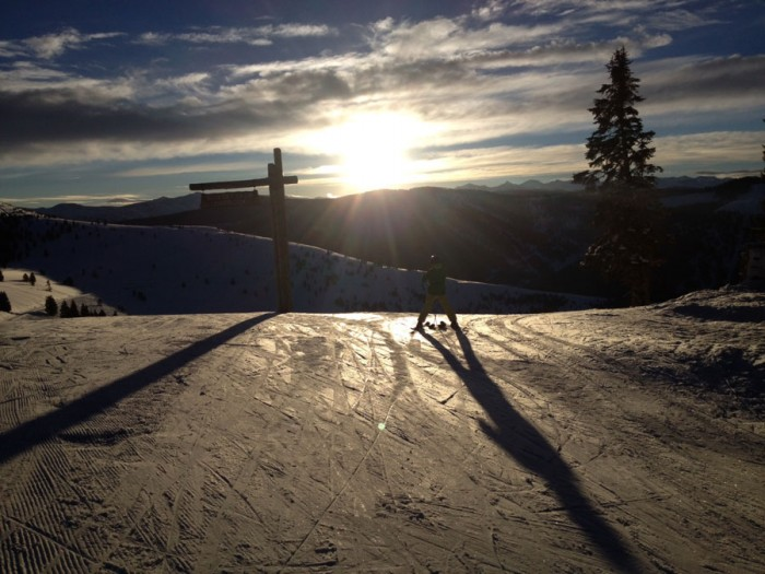 VVF First Tracks Vail Mountain