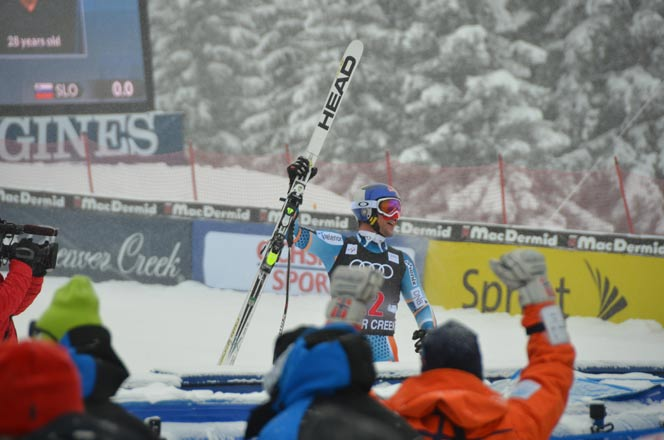 Axel Svindal Birds of Prey FIS World Cup Downhill