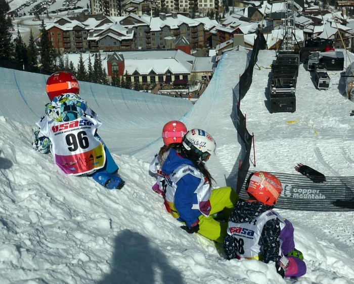 Copper Mountain Halfpipe USASA Competition