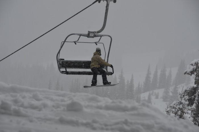 Vail Mountain Chair 11 Cliffs