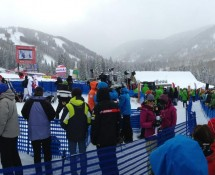 Panoramic Image Birds of Prey Finish Area Beaver Creek