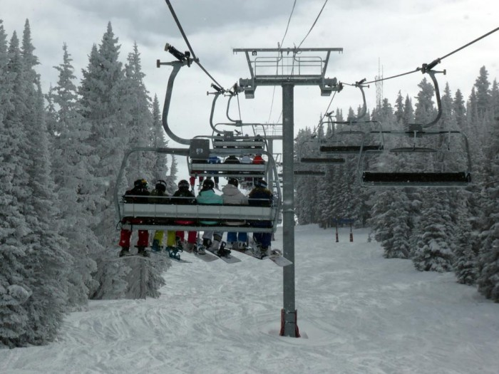 Vail Mountain Top Express 6 Person