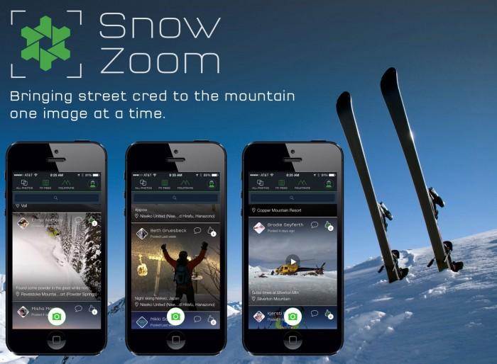 SnowZoom Snow Zoom iPhone app