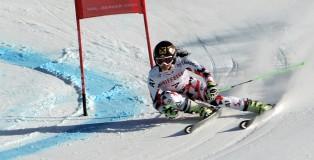 Anna Fenninger (AUT) Wins GS
