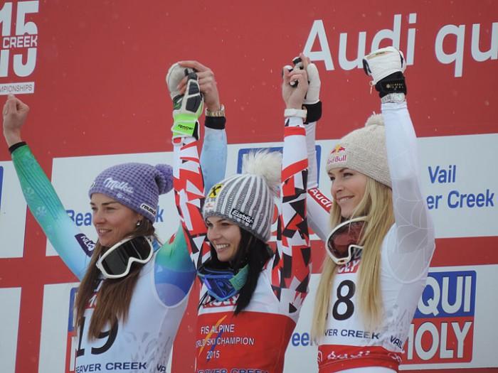 2015 World alpine Championships Vail Beaver Creek Womens Super G