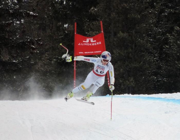 Lindsey Vonn 2015 World Alpine Championships Womens SuperG 2