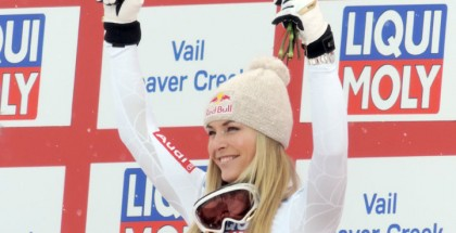 Lindsey Vonn 2015 World Alpine Championships Womens SuperG