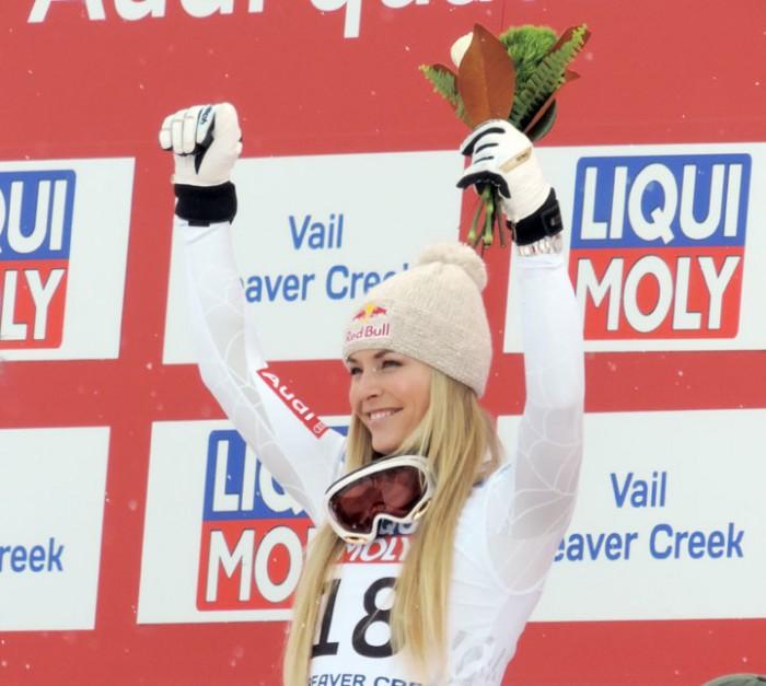 Lindsey Vonn 2015 World Alpine Championships Womens SuperG
