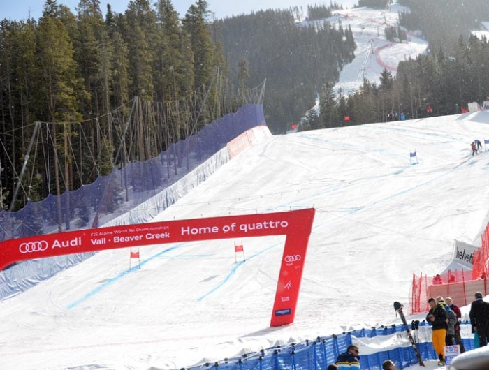 2015 World alpine Championships Vail Beaver Creek Womens Super G 3