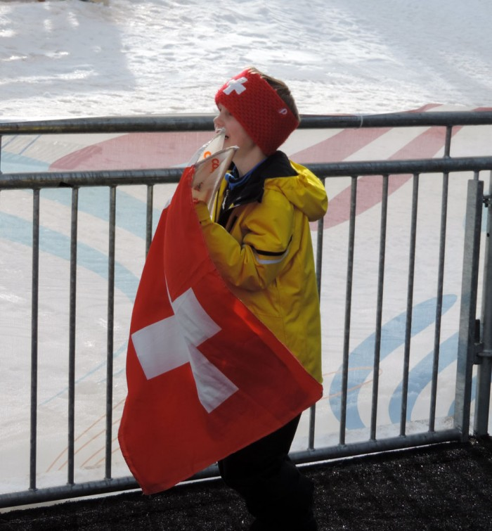 Swiss Fans 2015 World Champs