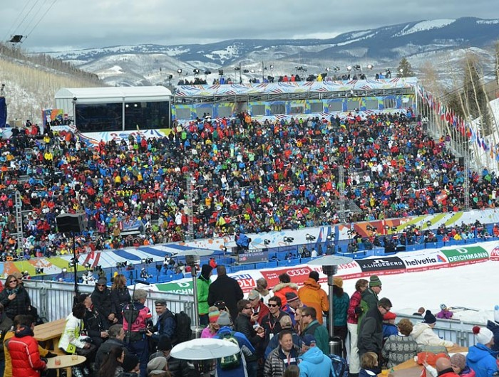 2015 World alpine Championships Vail Beaver Creek Womens Super G 2