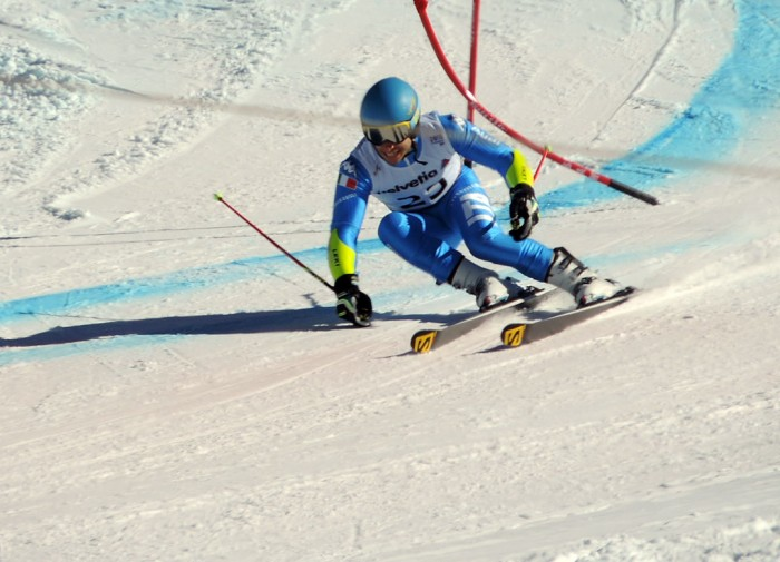 Itailian Borsotti 2015 World Championships GS