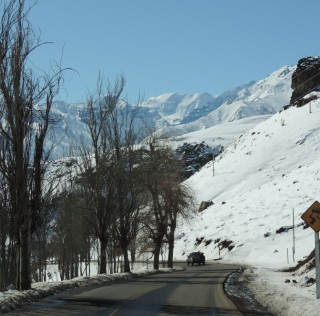 Chili Ski areas Andes Mountains 2