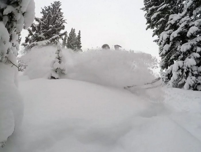 Still Snowing in Vail